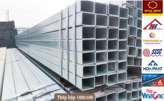 Thép hộp 100x100