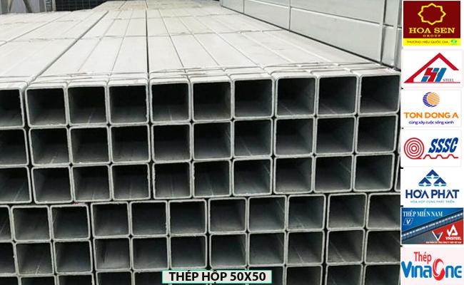 Thép hộp 50x50
