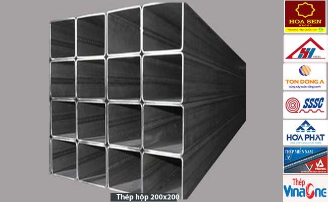 Thép hộp 200x200